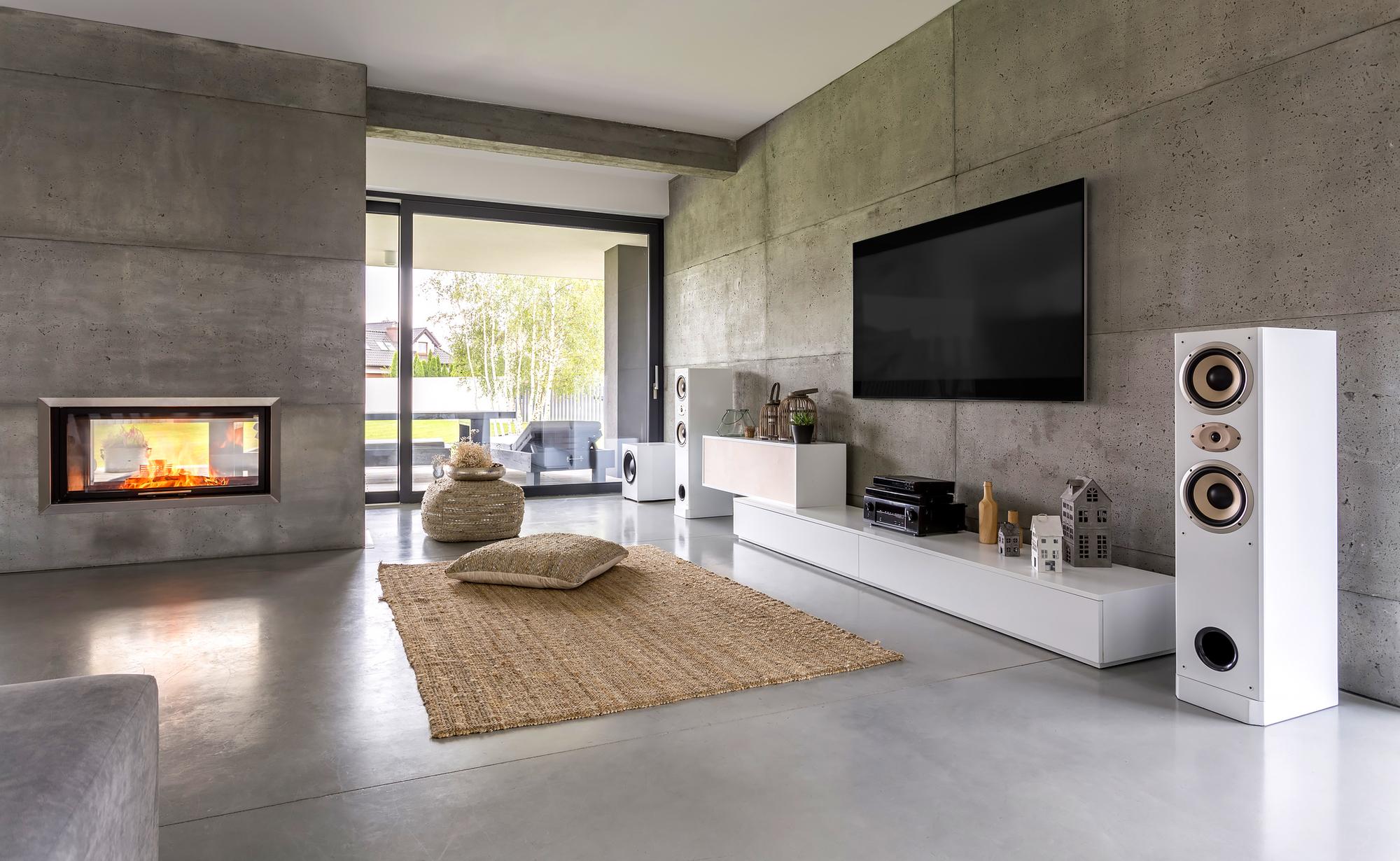 Betonlook in de woonkamer: stoer, eigentijds, ruig ...